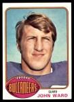 1976 Topps #268  John Ward   Front Thumbnail