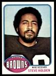 1976 Topps #167  Steve Holden  Front Thumbnail