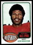 1976 Topps #170  Ken Houston  Front Thumbnail