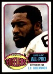 1976 Topps #180  L.C.Greenwood  Front Thumbnail