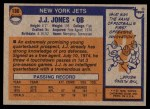 1976 Topps #186  J.J. Jones   Back Thumbnail