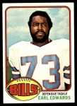 1976 Topps #213  Earl Edwards  Front Thumbnail