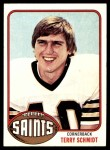 1976 Topps #247  Terry Schmidt   Front Thumbnail