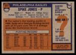 1976 Topps #221  Spike Jones  Back Thumbnail