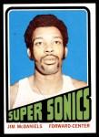 1972 Topps #137  Jim McDaniels   Front Thumbnail