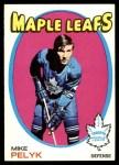 1971 Topps #92  Mike Pelyk  Front Thumbnail