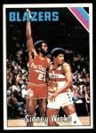 1975 Topps #40  Sidney Wicks  Front Thumbnail