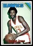 1975 Topps #81  Dwight Jones  Front Thumbnail
