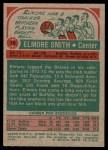 1973 Topps #19  Elmore Smith  Back Thumbnail