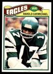 1977 Topps #144  Harold Carmichael  Front Thumbnail