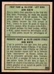 1971 O-Pee-Chee #255   -  Johnny Bucyk 1st All-Star Team Back Thumbnail