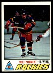 1977 Topps #130  Wilf Paiement  Front Thumbnail