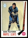 1969 Topps #53  Bob Pulford  Front Thumbnail