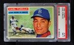 1956 Topps #190  Carl Furillo  Front Thumbnail
