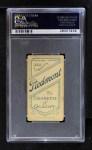 1909 T206  Gordon Hickman  Back Thumbnail