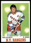 1970 Topps #63  Rod Gilbert  Front Thumbnail