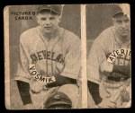 1935 Goudey 4-in-1  Babe Herman / Gus Suhr / Tom Padden / Cy Blanton  Back Thumbnail