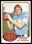 1976 Topps #404  Bill Munson  Front Thumbnail