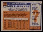 1976 Topps #346  Mike Phipps  Back Thumbnail