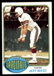 1976 Topps #363  Jeff West   Front Thumbnail