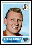 1968 Topps #69  Steve Tensi  Front Thumbnail