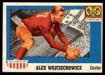 1955 Topps #82  Alex Wojciechowicz  Front Thumbnail
