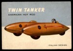 1954 Topps World on Wheels #43   Twin Tanker Front Thumbnail