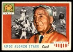 1955 Topps #38  Amos Alonzo Stagg  Front Thumbnail