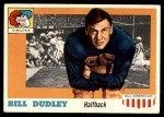 1955 Topps #10  Bill Dudley  Front Thumbnail