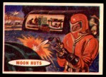 1957 Topps Space Cards #42   Moon Huts  Front Thumbnail