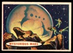 1957 Topps Space Cards #72   Mysterious Mars Front Thumbnail
