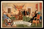 1956 Topps U.S. Presidents #2   Declaration of Independence Front Thumbnail