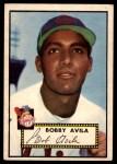 1952 Topps #257  Bobby Avila  Front Thumbnail