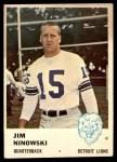 1961 Fleer #79  Jim Ninowski  Front Thumbnail