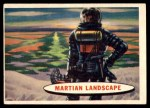 1957 Topps Space Cards #73   Martian Landscape Front Thumbnail