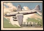 1952 Topps Wings #20   Hermes Front Thumbnail