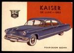 1954 Topps World on Wheels #140   Kaiser Deluxe 1953 Front Thumbnail