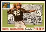 1955 Topps #23  Dick Kazmaier  Front Thumbnail