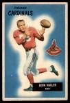 1955 Bowman #127  Gern Nagler  Front Thumbnail
