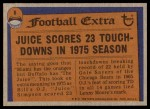 1976 Topps #6   -  O.J.Simpson  Record Breaker Back Thumbnail