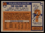 1976 Topps #39  Tom Sullivan  Back Thumbnail