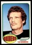 1976 Topps #76  Ted Hendricks  Front Thumbnail