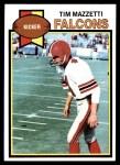 1979 Topps #36  Tim Mazzetti  Front Thumbnail