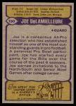 1979 Topps #190   -  Joe DeLamielleure All-Pro Back Thumbnail