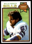 1979 Topps #259  Willie Parker  Front Thumbnail