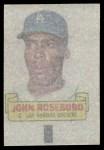 1966 Topps Rub Offs  John Roseboro  Back Thumbnail