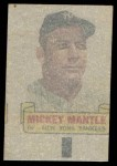 1966 Topps Rub Offs   Mickey Mantle   Back Thumbnail