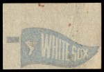 1966 Topps Rub Offs    Chicago White Sox Pennant Back Thumbnail
