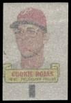 1966 Topps Rub Offs   Cookie Rojas   Back Thumbnail