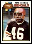 1979 Topps #34  Pete Johnson  Front Thumbnail